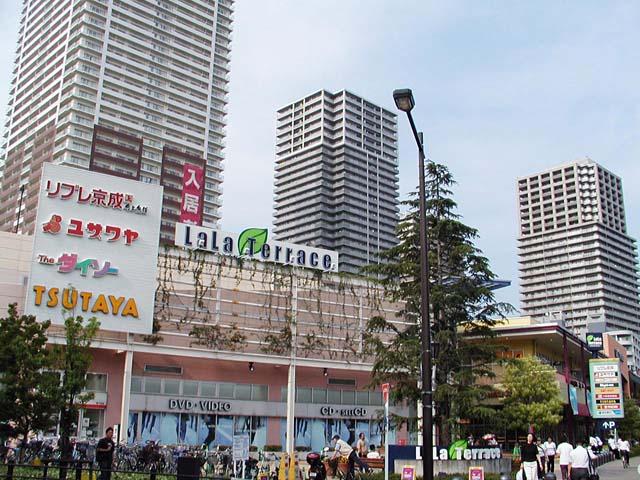 南千住駅周辺の風景