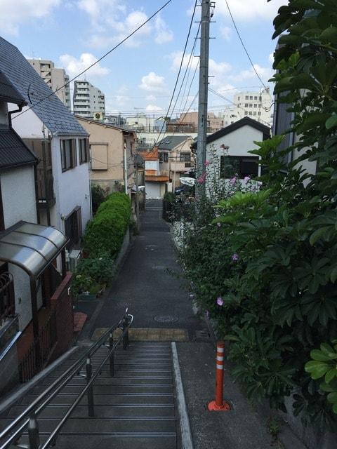 西大井駅 周辺住宅街