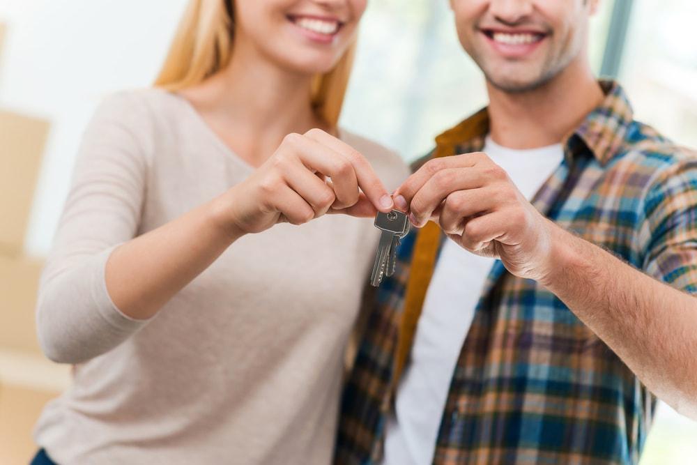 鍵を持つカップル