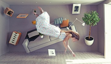無重力の部屋