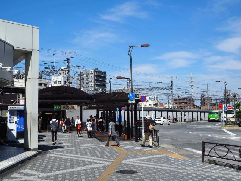 金町駅の外観
