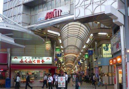 武蔵小山駅周辺の様子