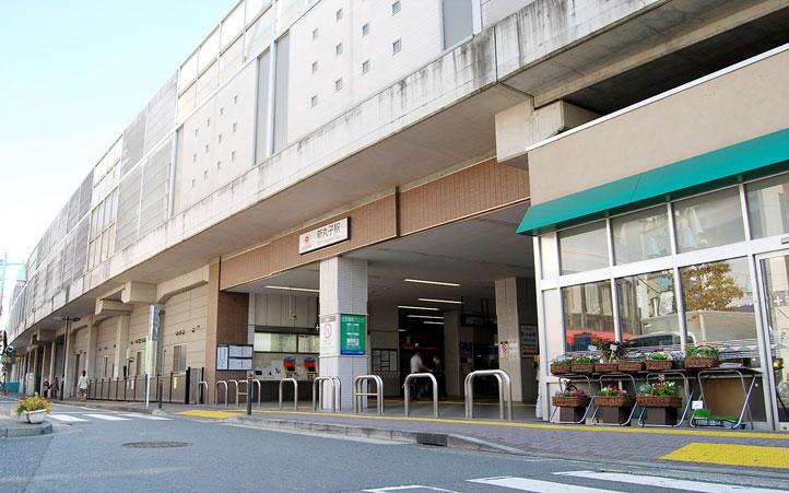 新丸子駅2
