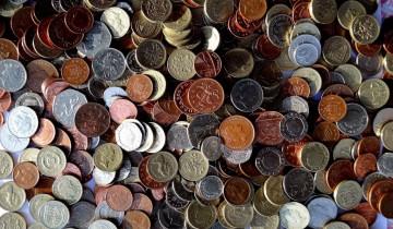 お金の集まり