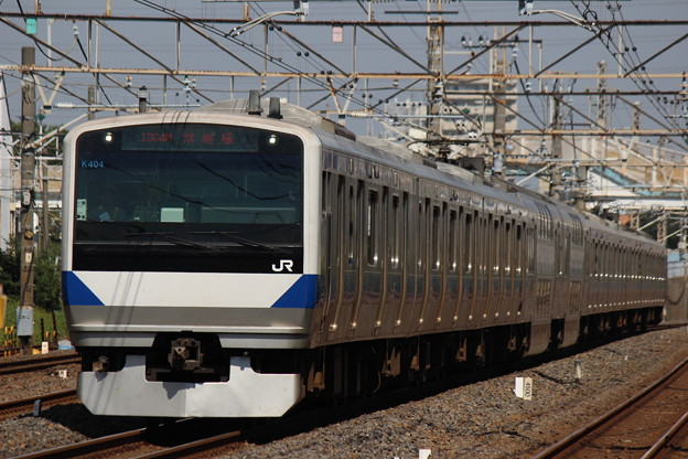 常磐線の電車