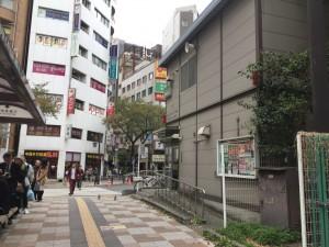東口側の交番