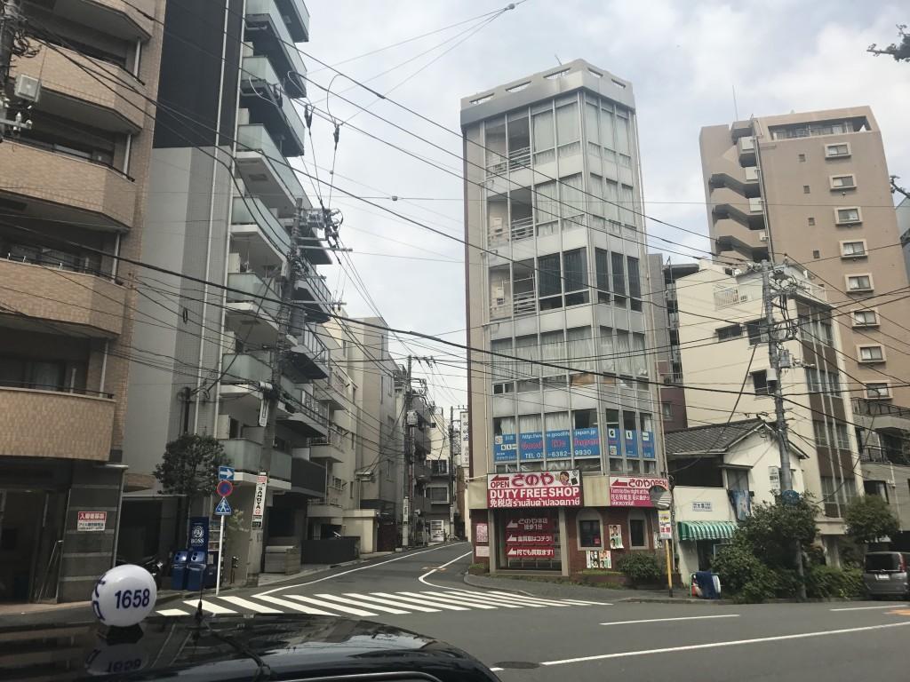静かな住宅街