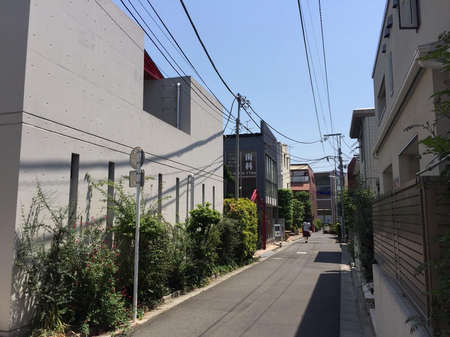 上石神井駅(北口側の住宅街)