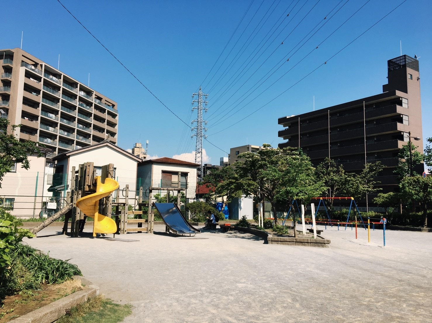 船橋駅周辺の住宅街