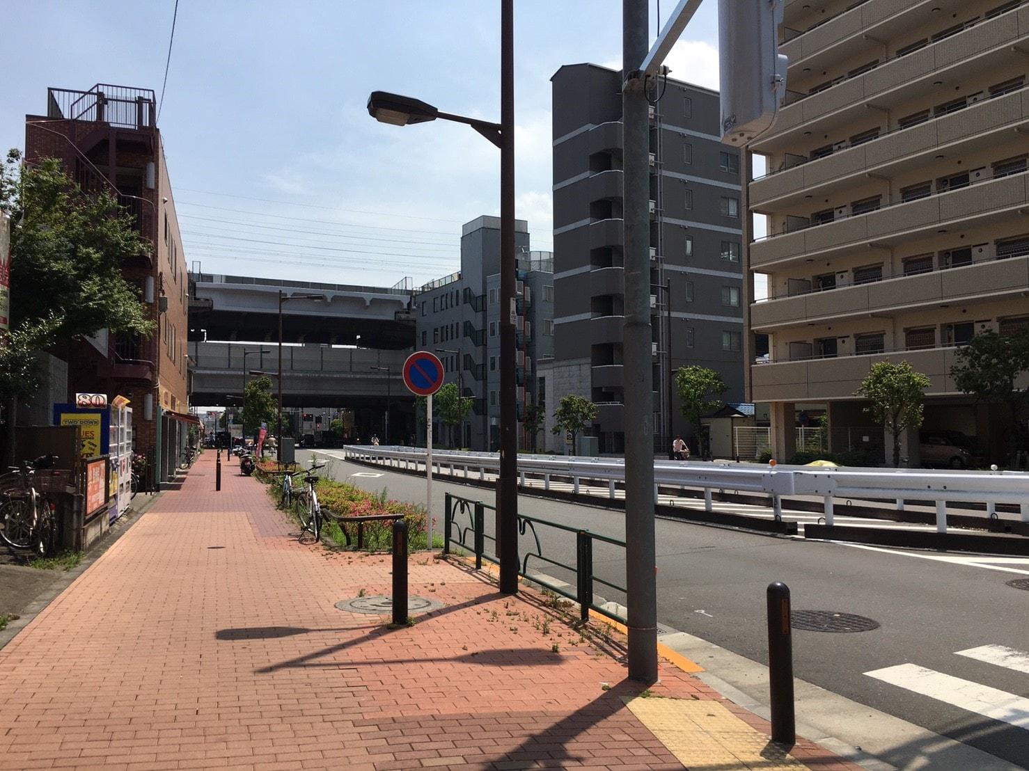 駅周辺の様子