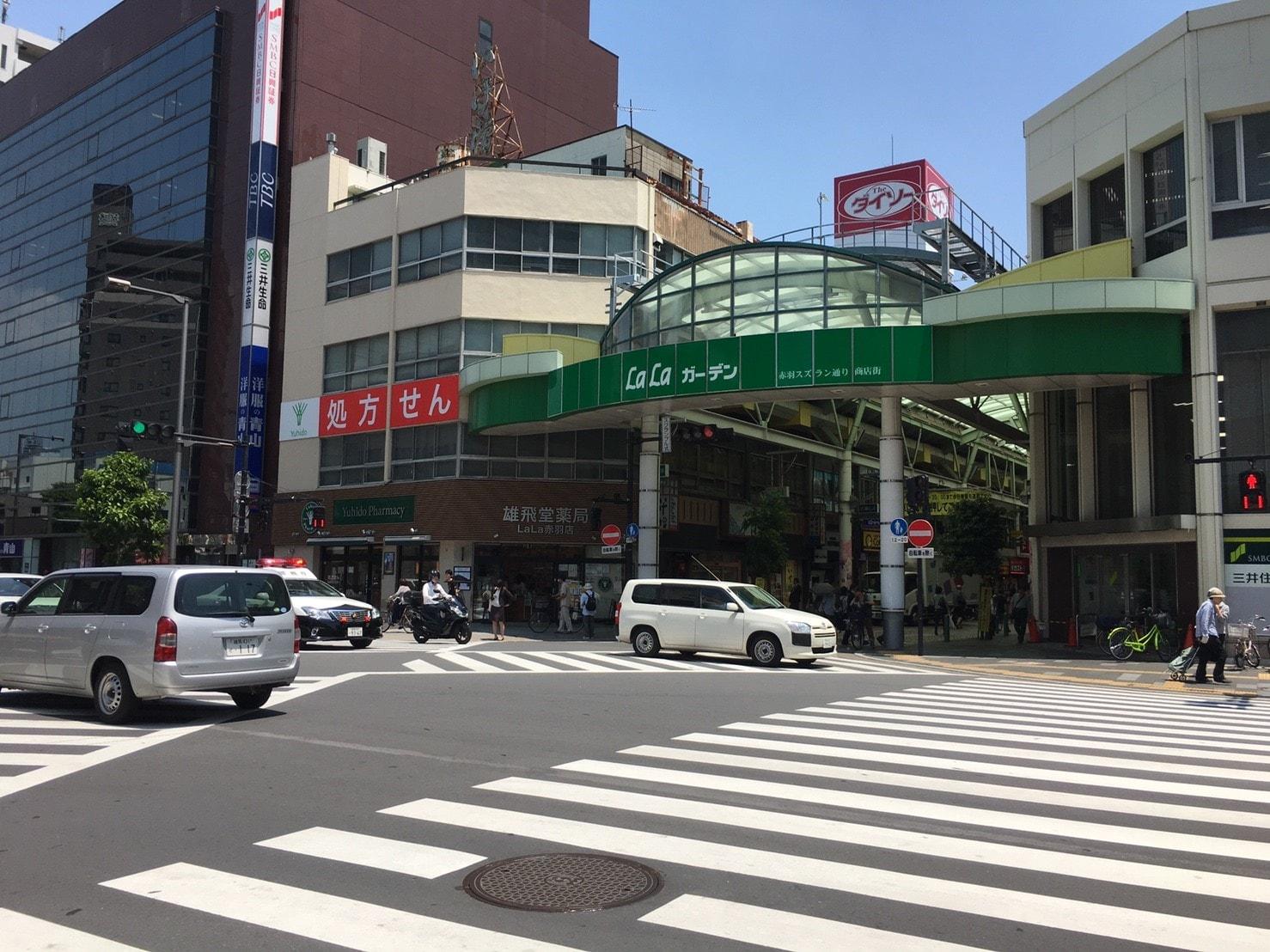 活気ある商店街