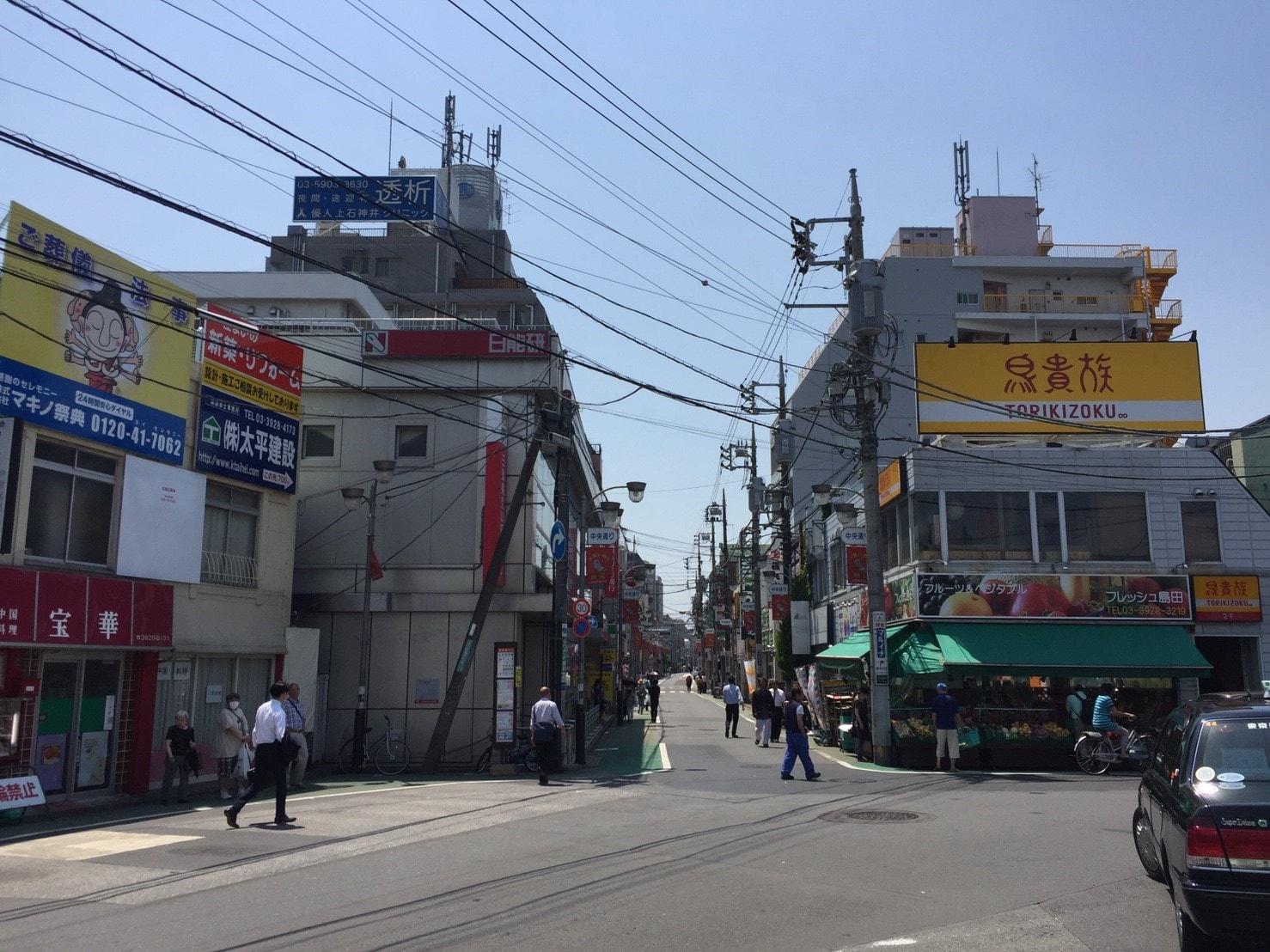 上石神井駅南口