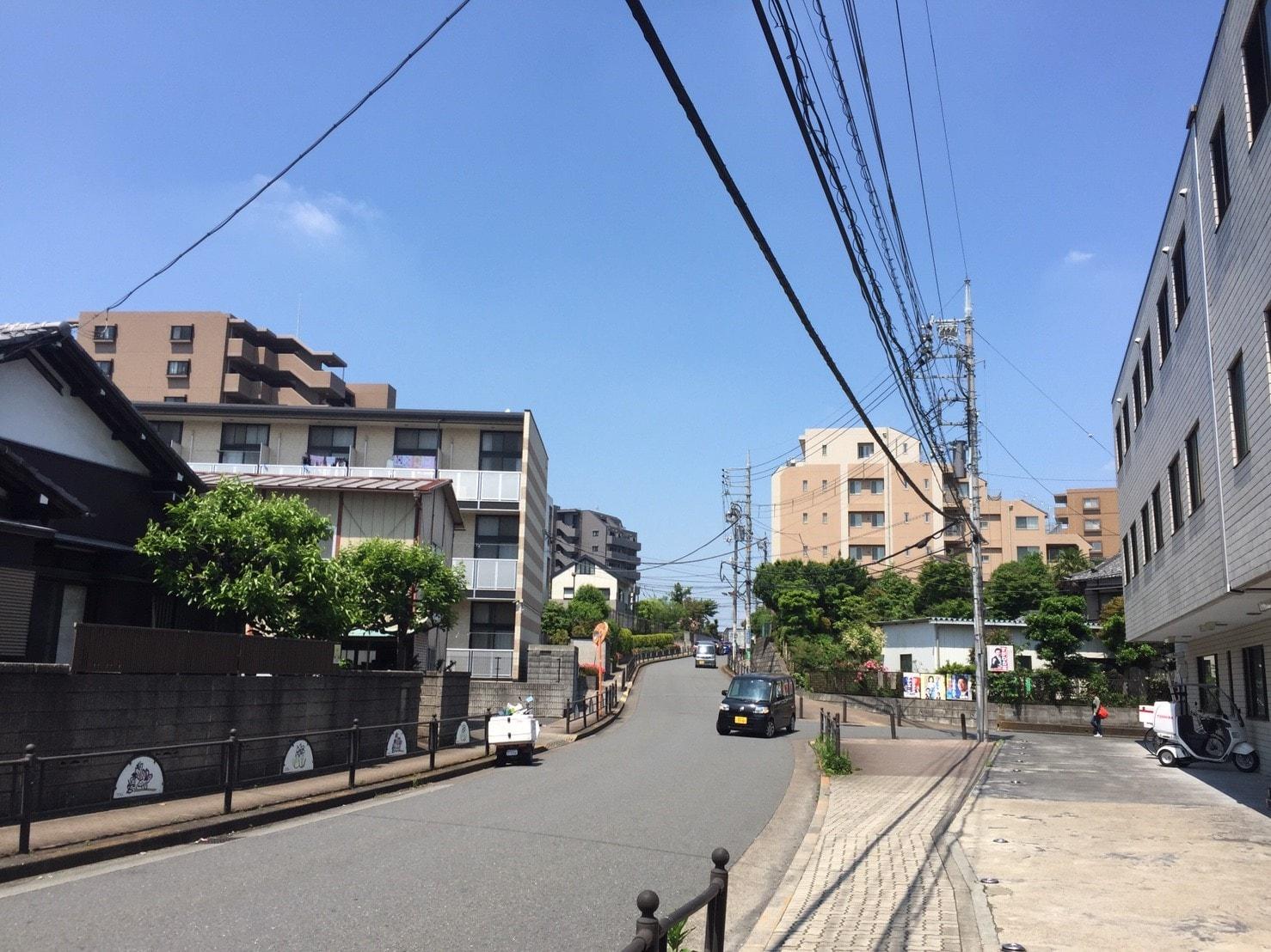 練馬高野台の住宅街