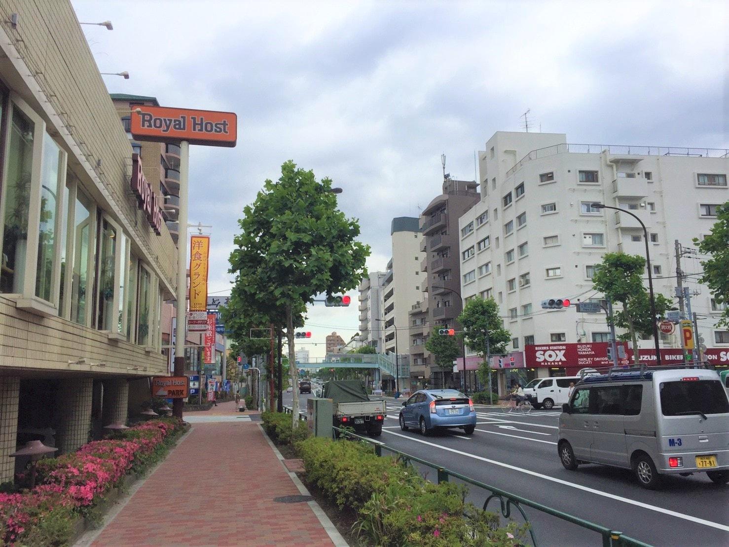 「新江古田 街並み」の画像検索結果