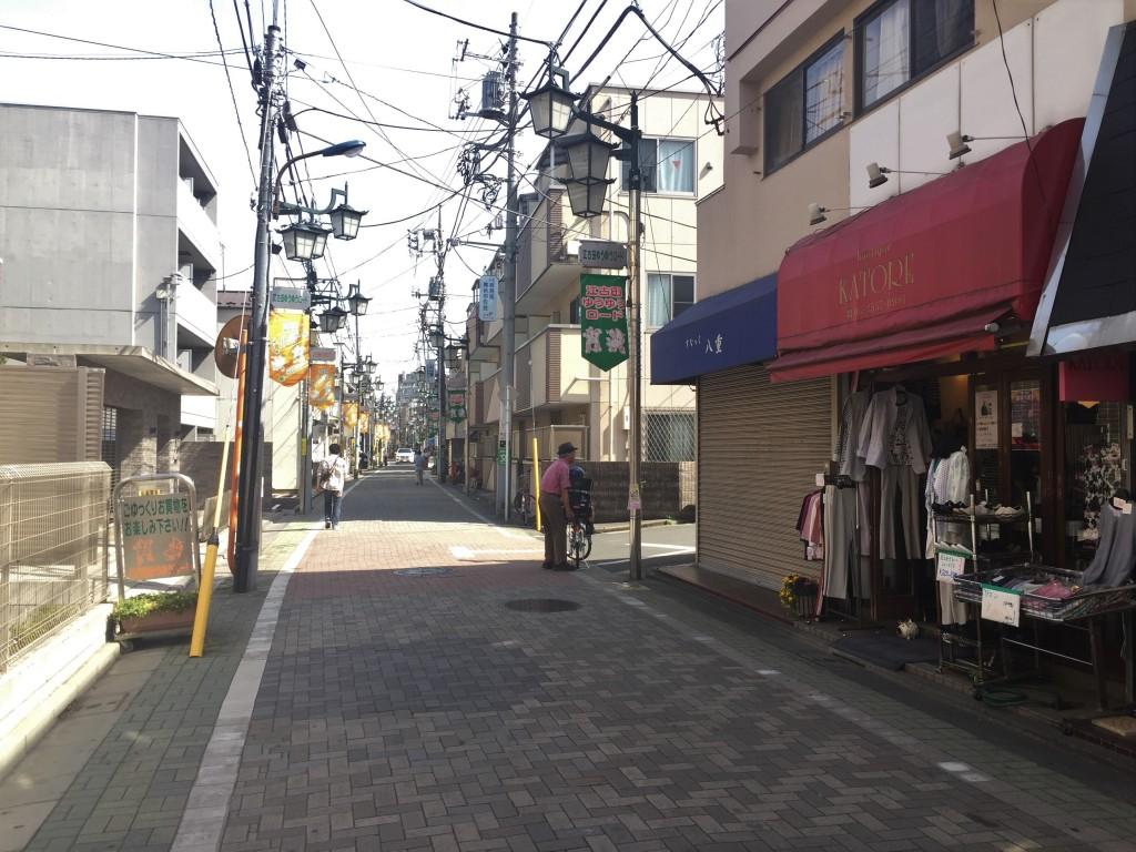 新桜台駅の商店街