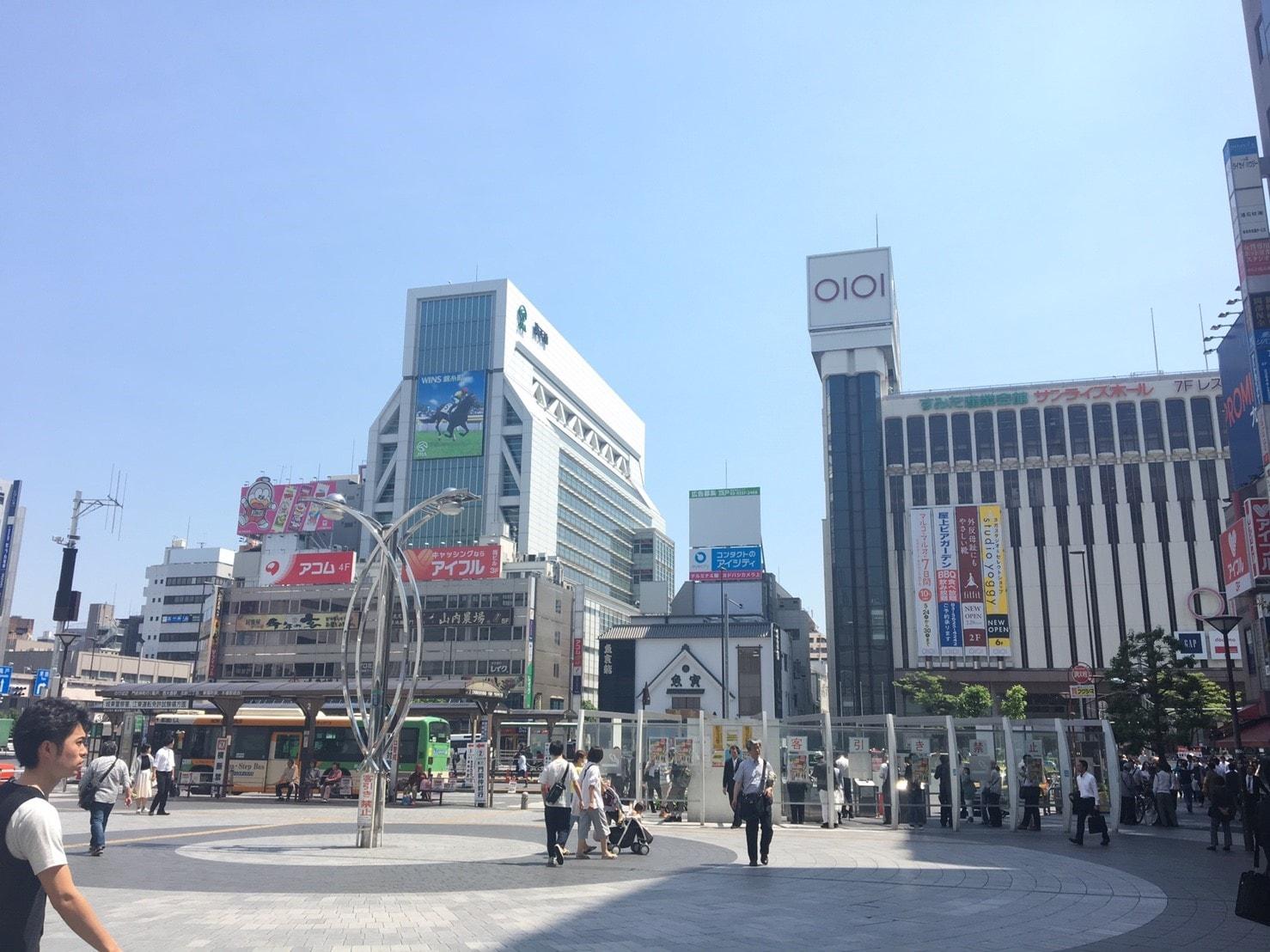 錦糸町駅南口広場