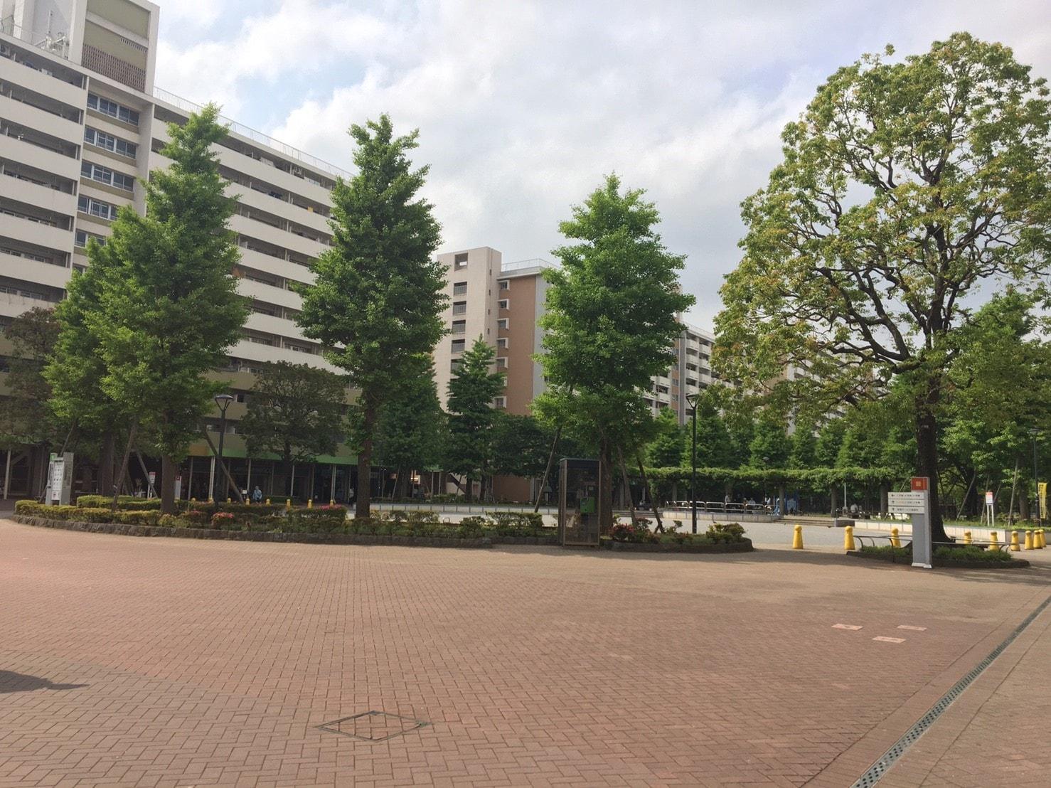大島駅周辺の団地