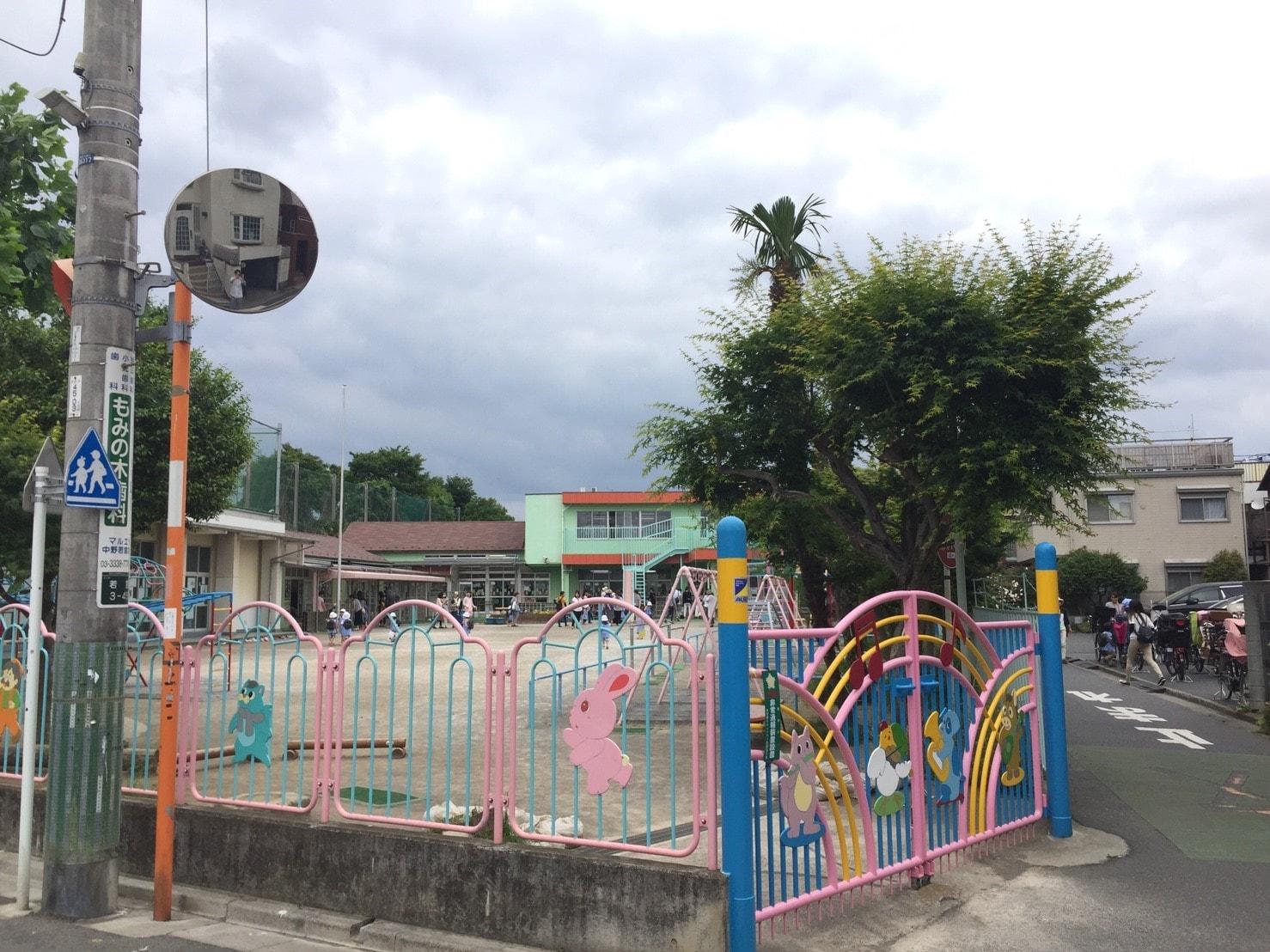 住宅街の中にある幼稚園