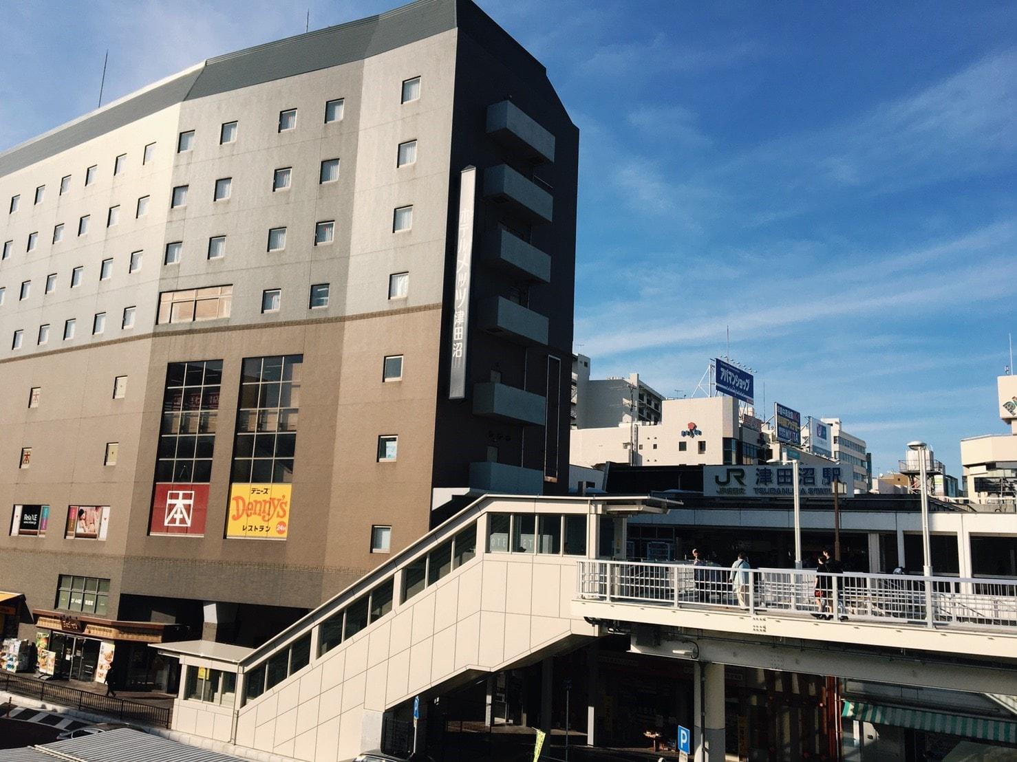 津田沼駅周辺の街並み