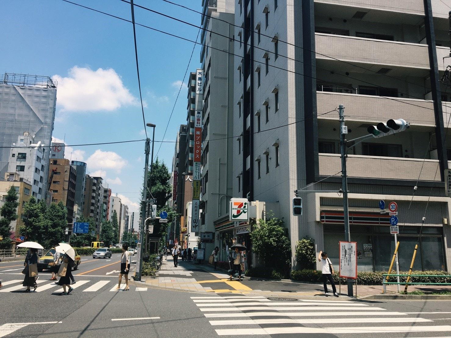 江戸通り沿い