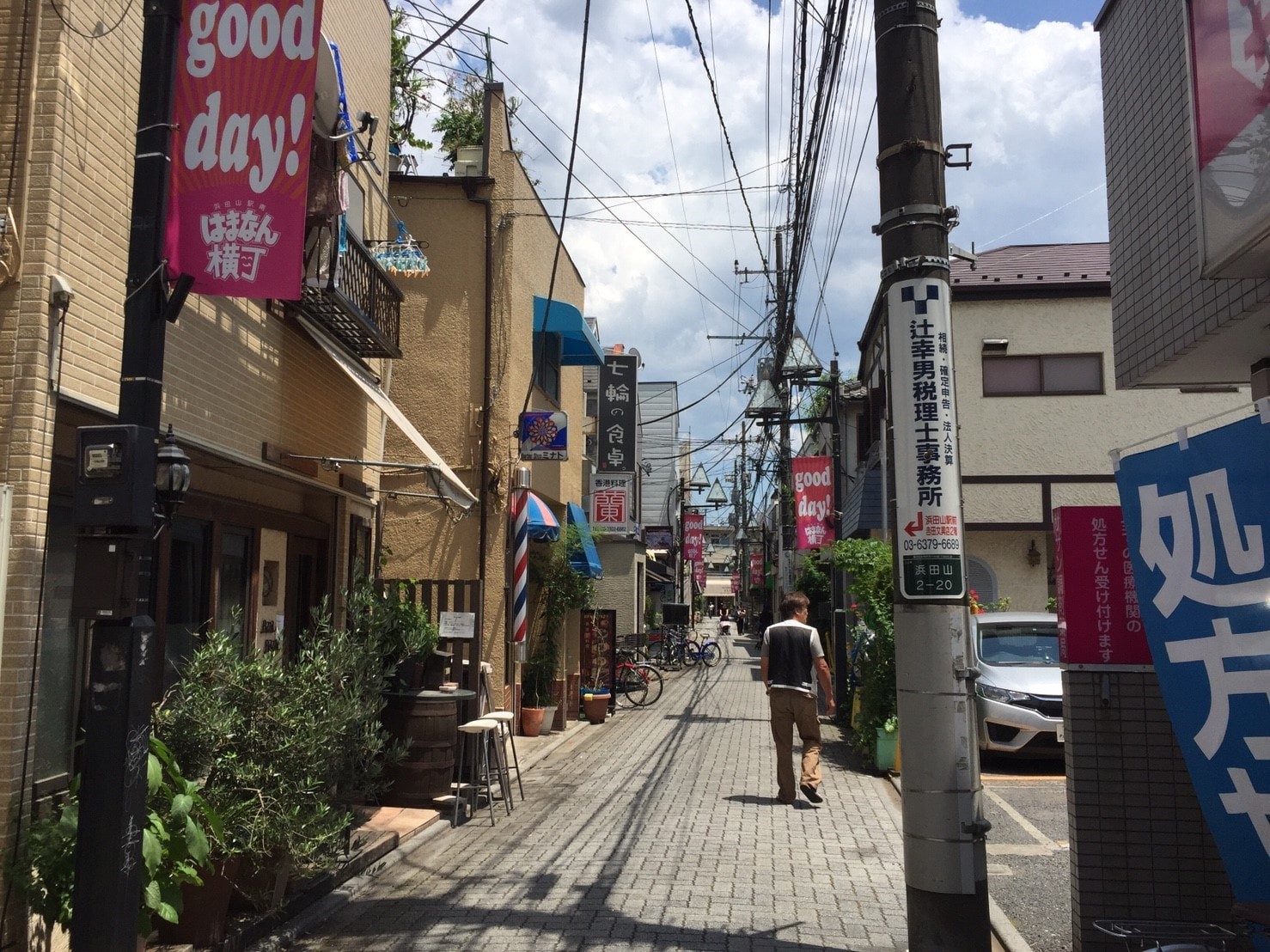 昔ながらの商店街
