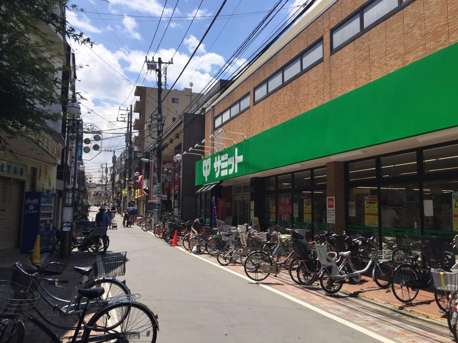 駅前のお買い物スポット