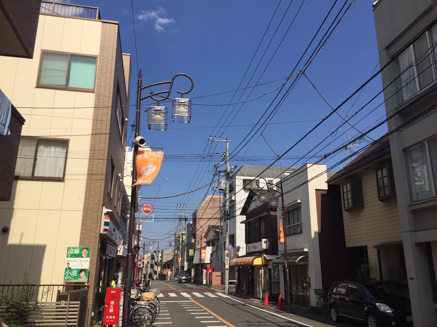 住宅街の通り