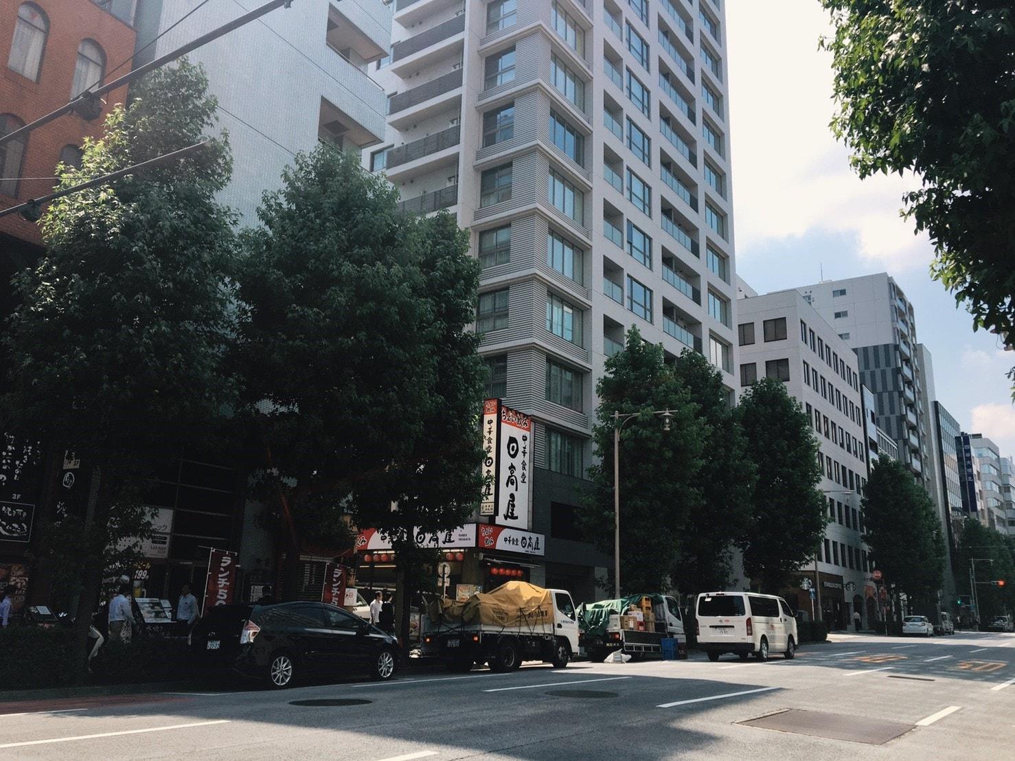 人形町駅周辺の高層マンション