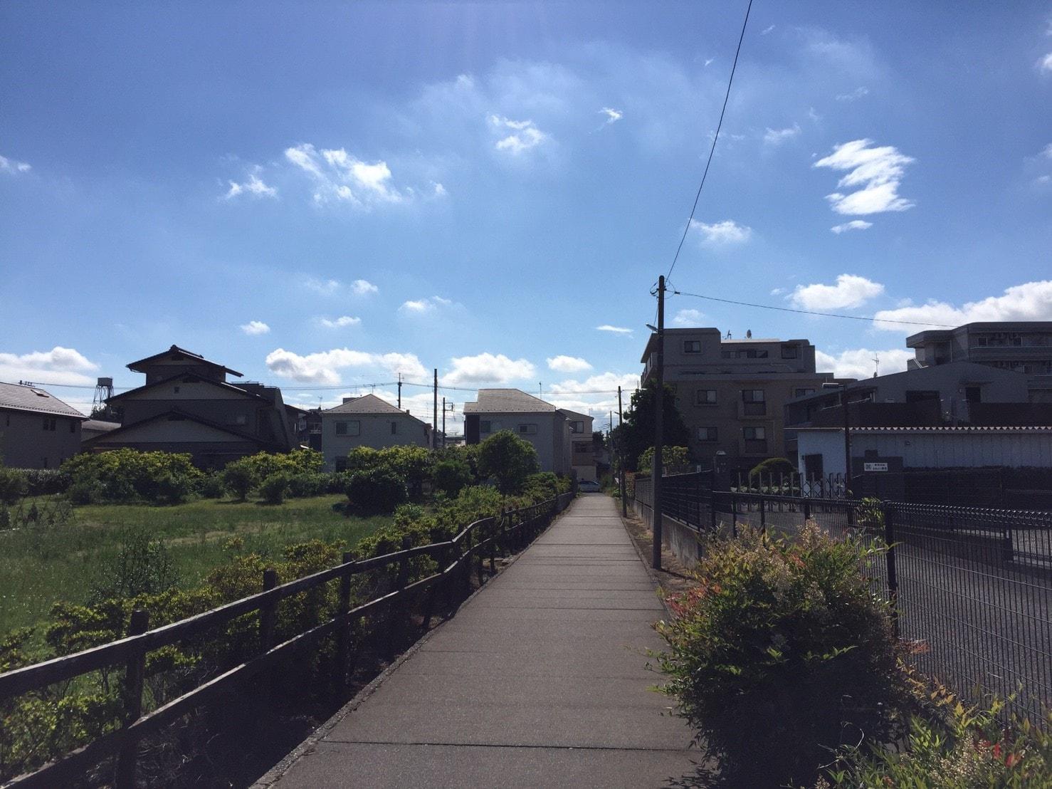 小平駅周辺の住宅街
