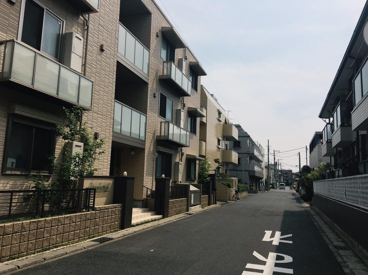 妙典駅 周辺の住宅街