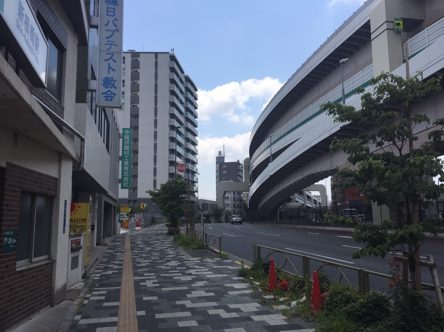 新板橋駅周辺の様子<br />