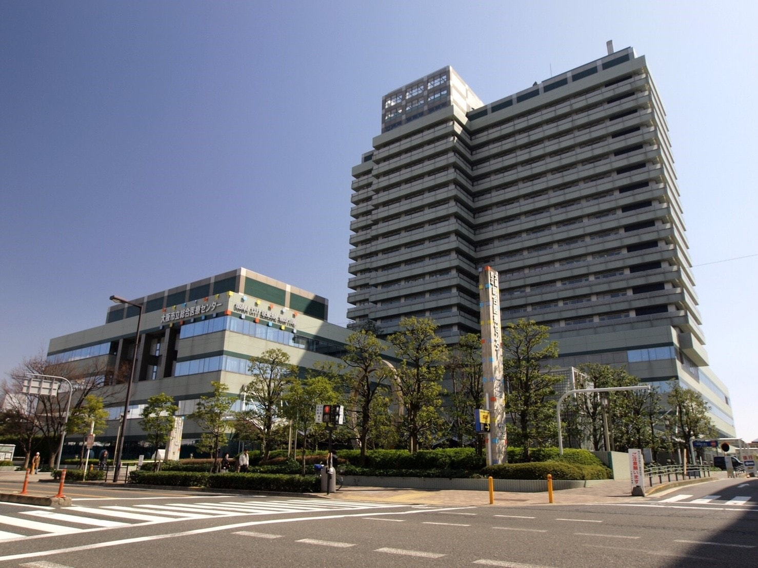 桜ノ宮駅周辺のビル