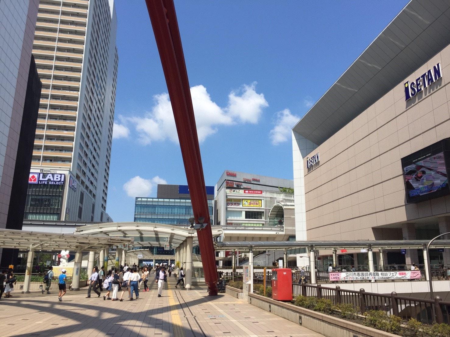 立川駅北口周辺