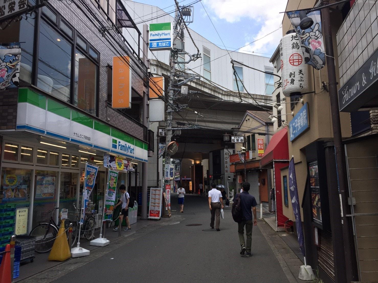 商店街の様子