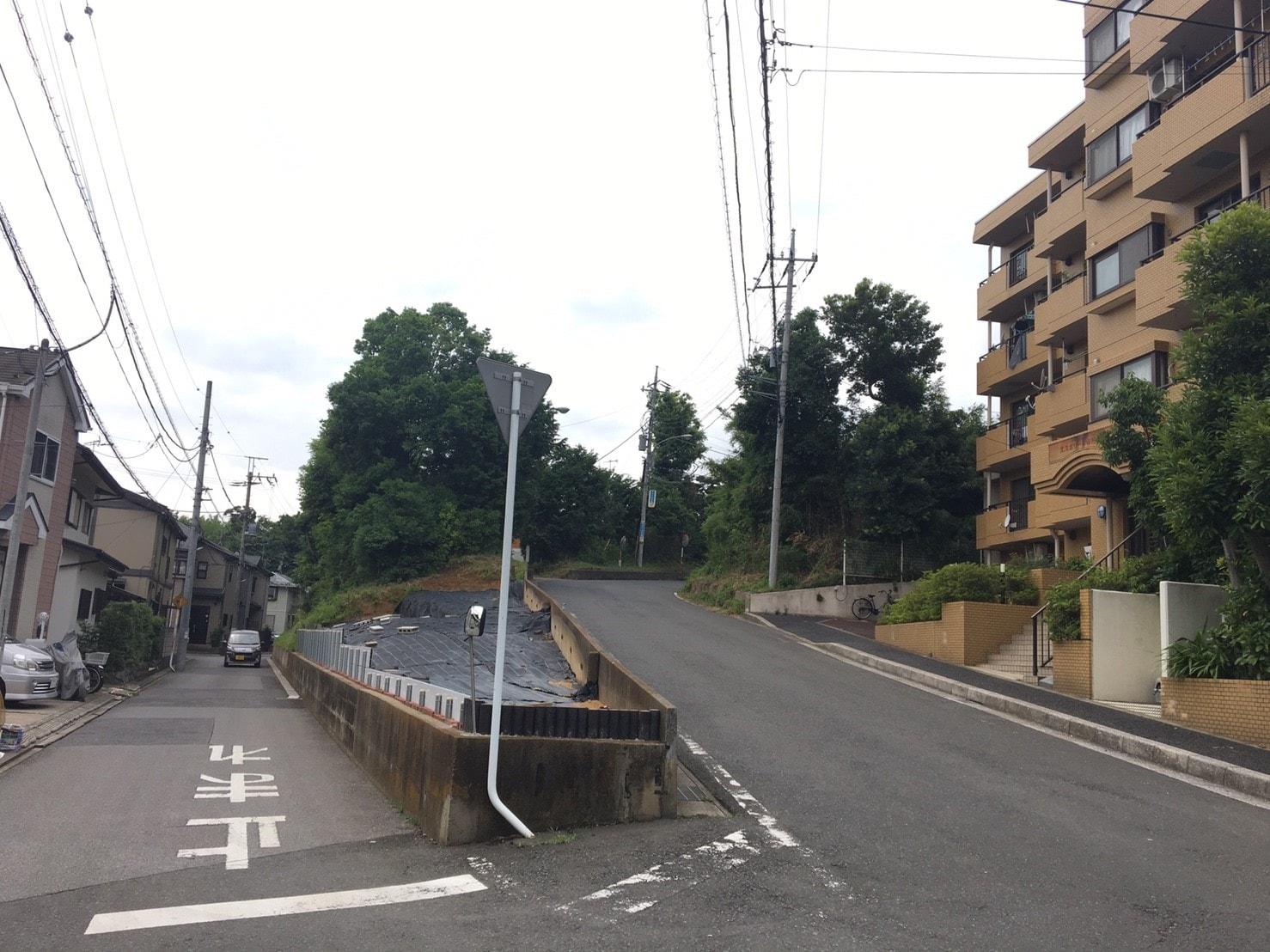 市川大野駅周辺の住宅街