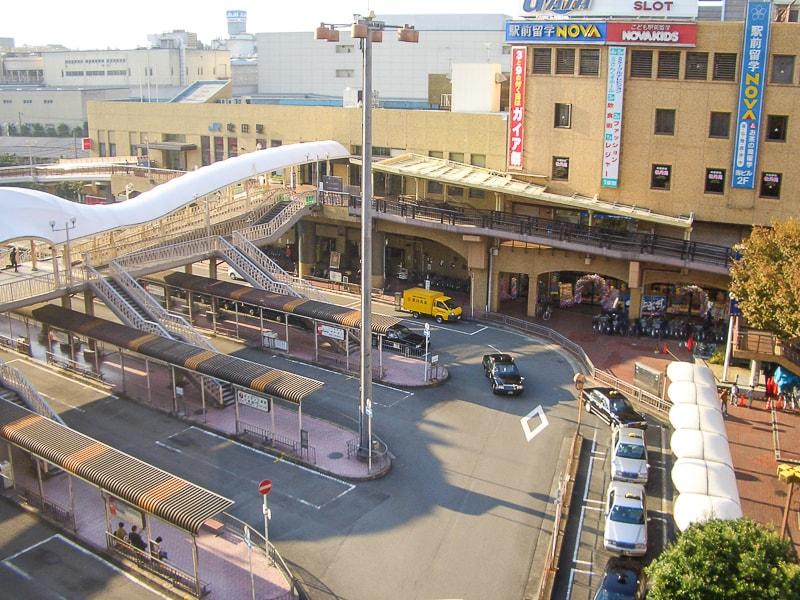 吹田駅前の風景