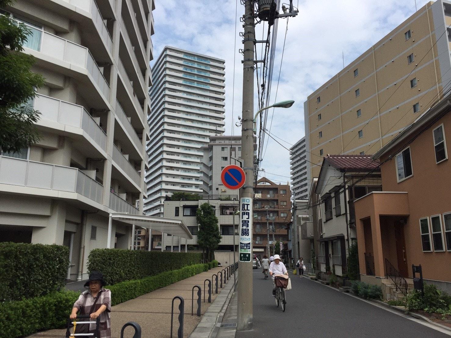 住宅街の画像