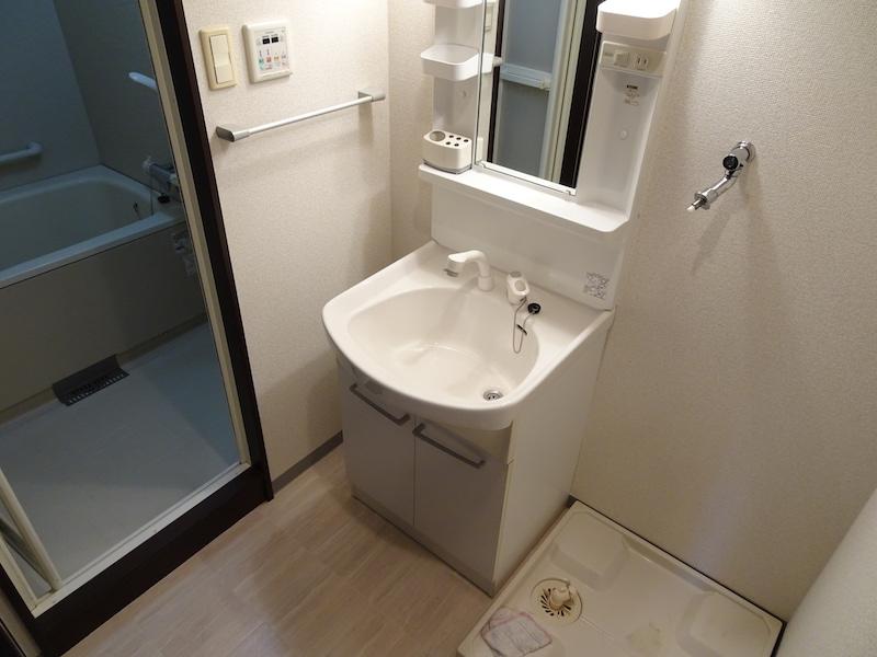 お風呂と独立洗面台