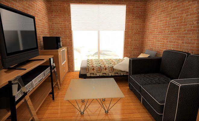 家具を置いている部屋