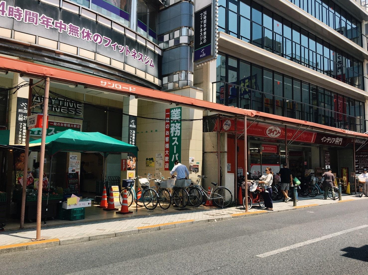 サンロード商店街の風景