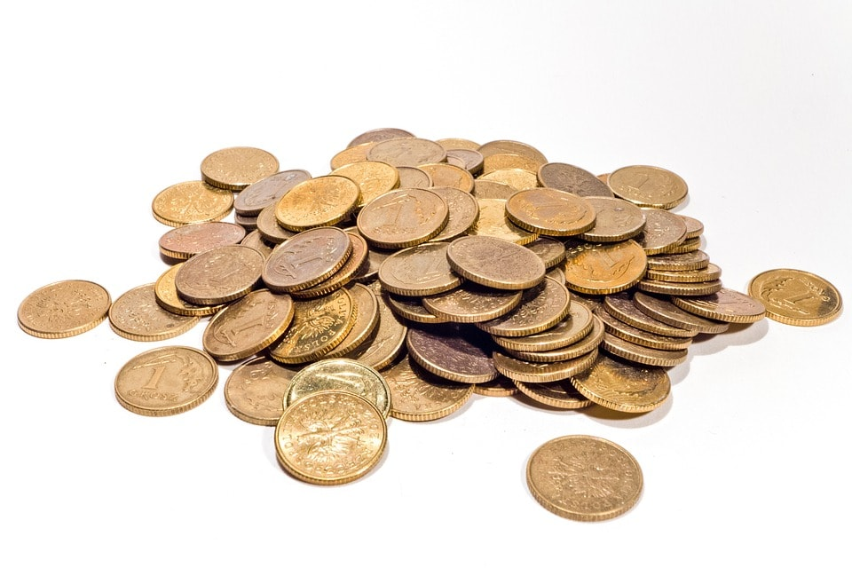 コインの写真
