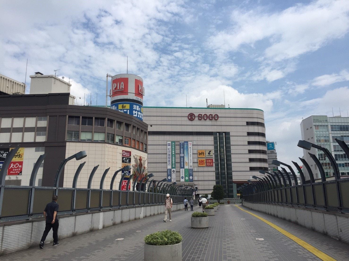 川口駅前の画像