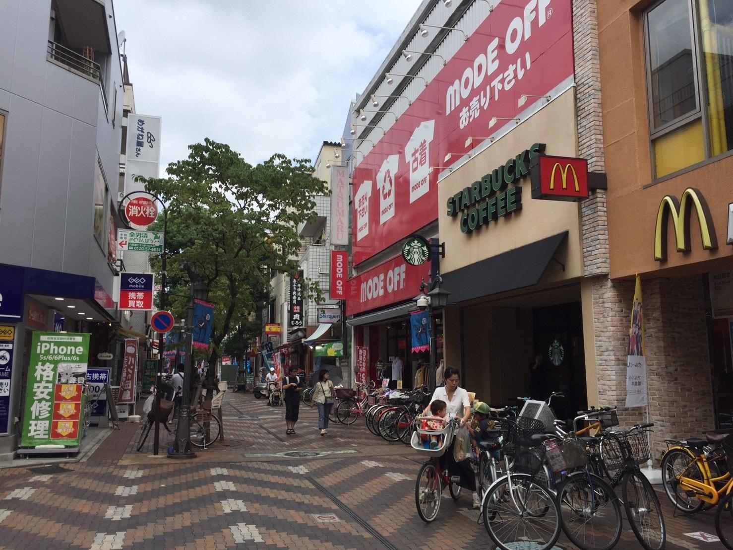 川口銀座商店街の画像