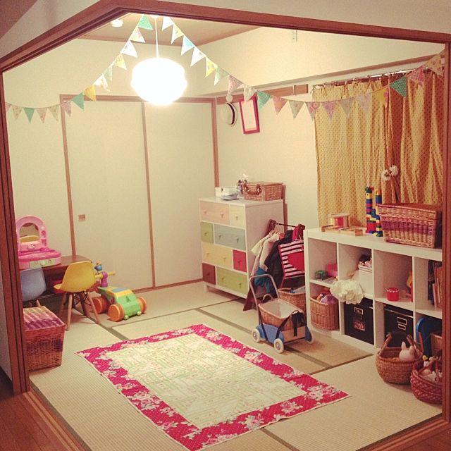 和室の子ども部屋