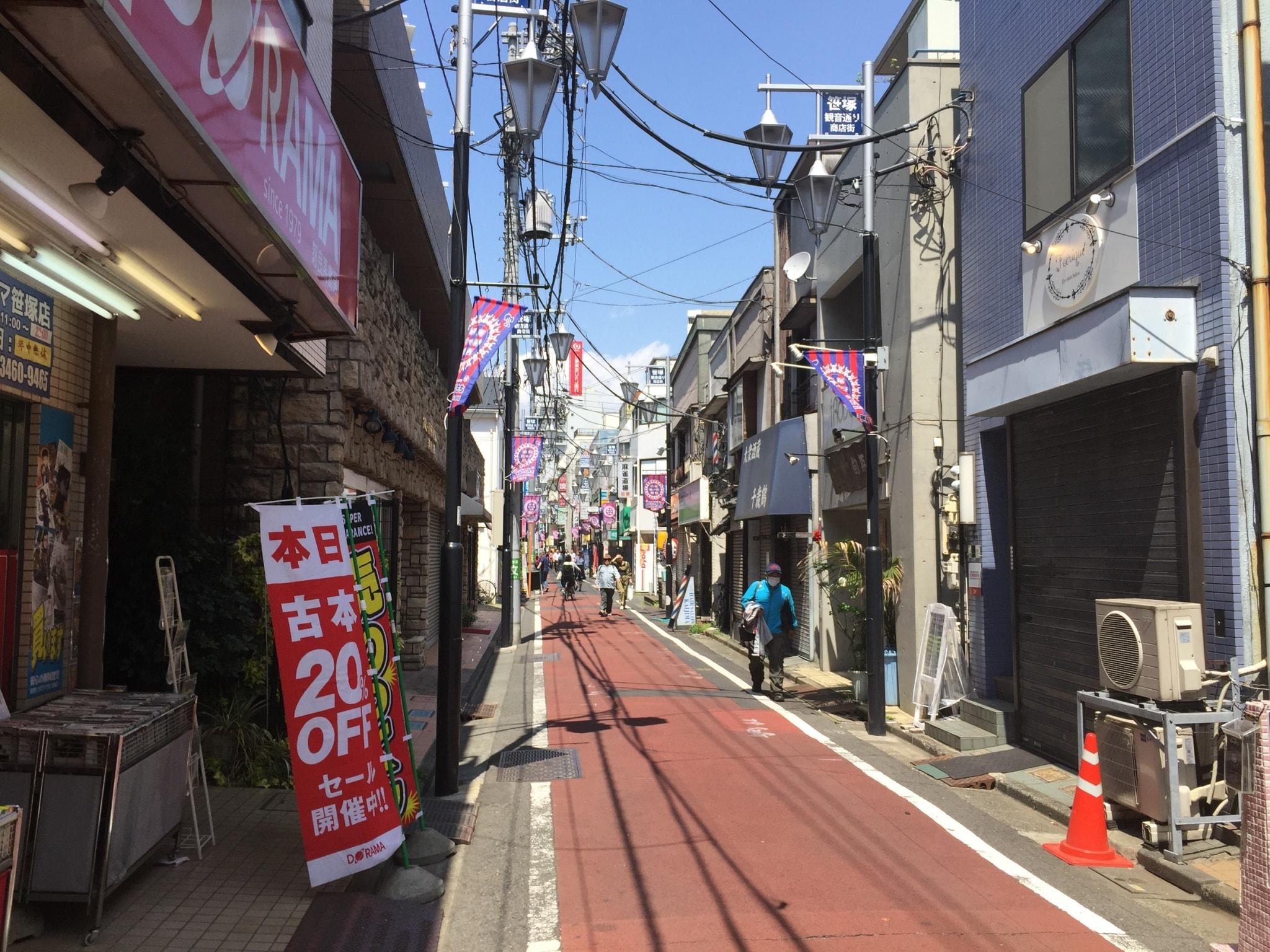 笹塚観音通り商店街