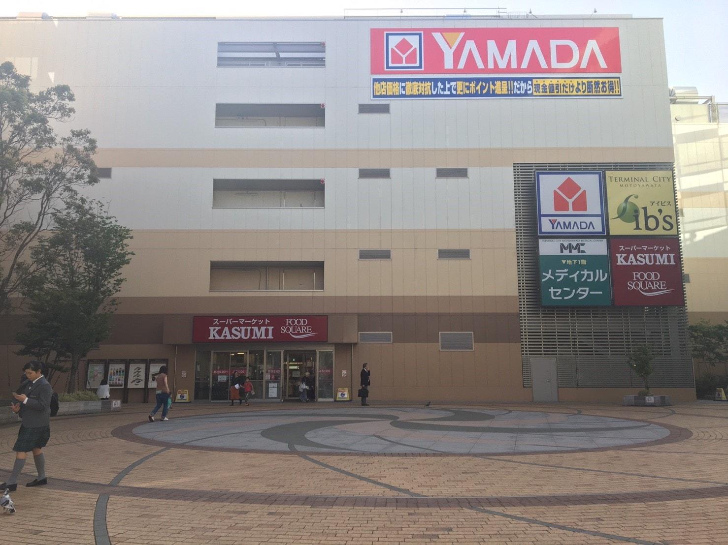 本八幡駅前の商業施設「アイビス」