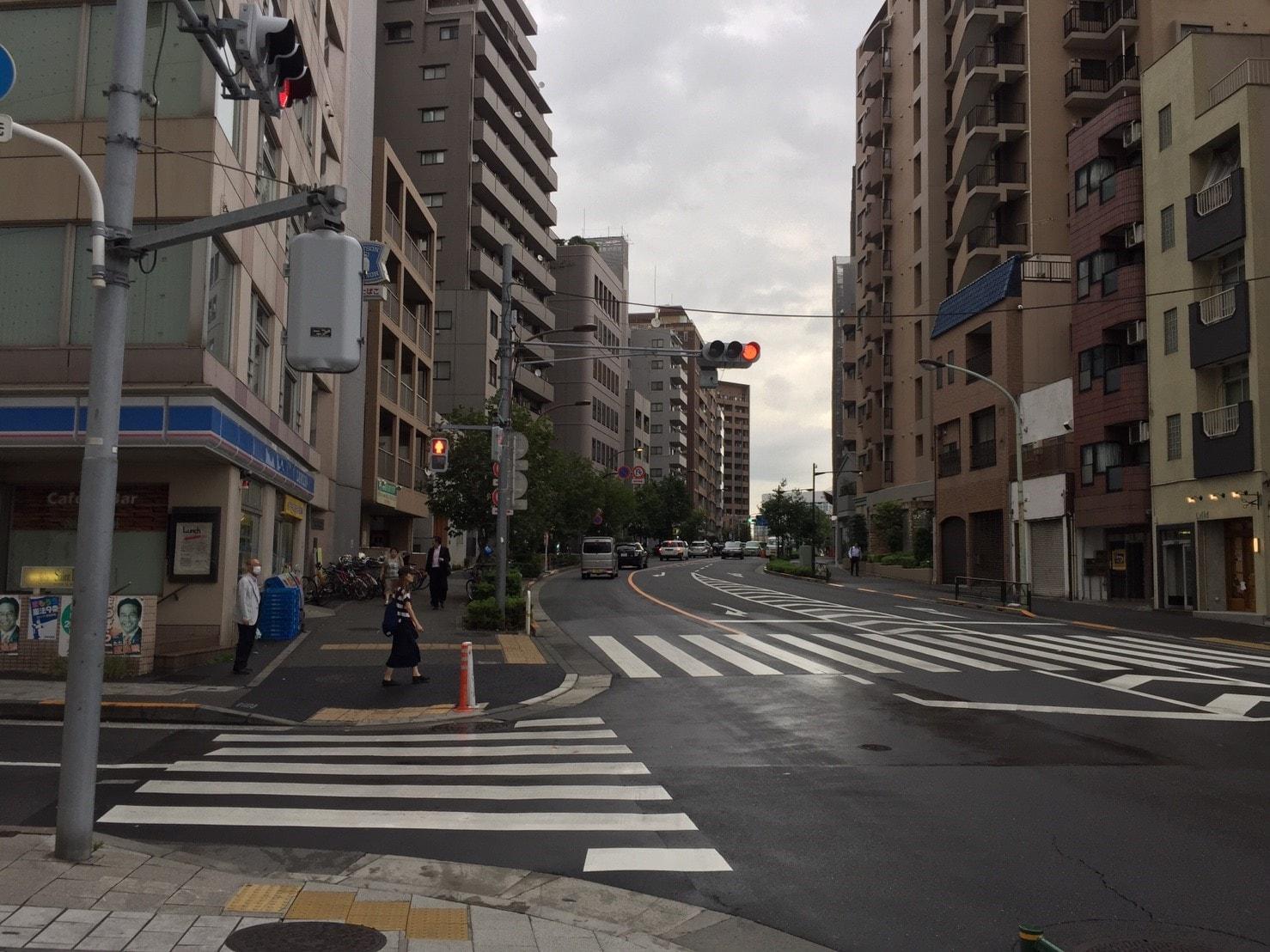 大井町東側の街並み