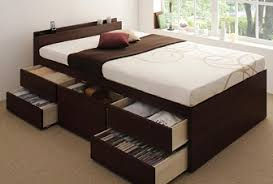 引き出し付きベッド