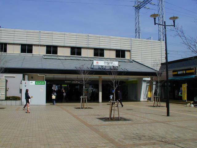 宮崎台駅前の様子