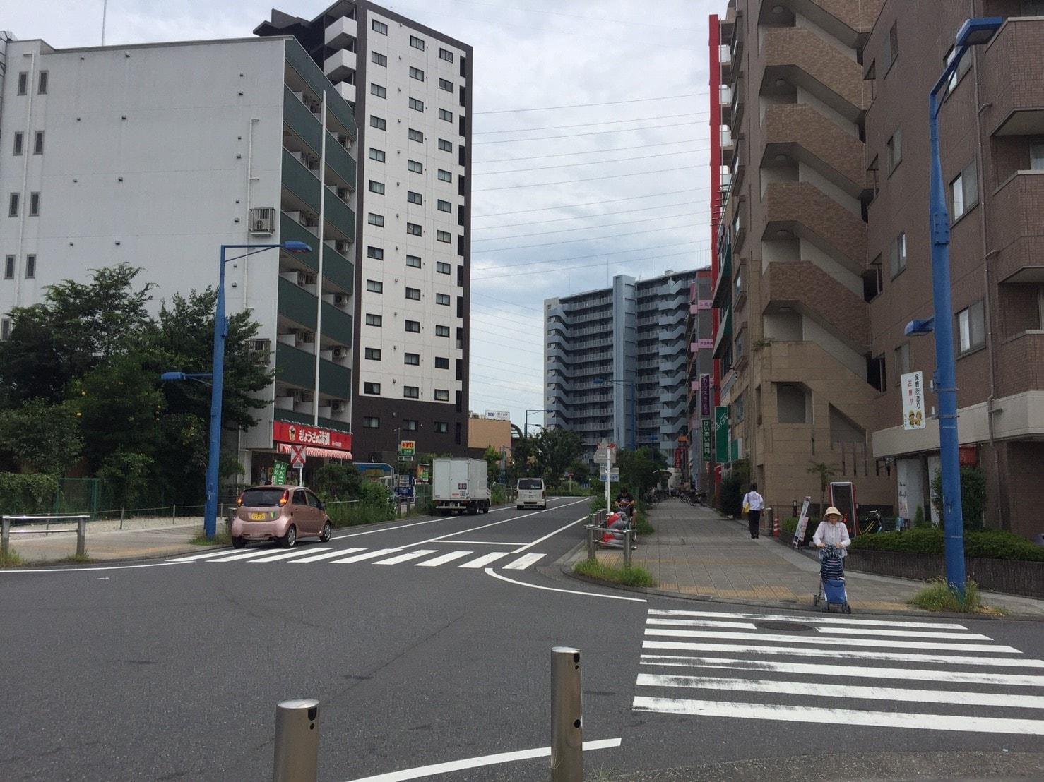 鳩ヶ谷駅西側